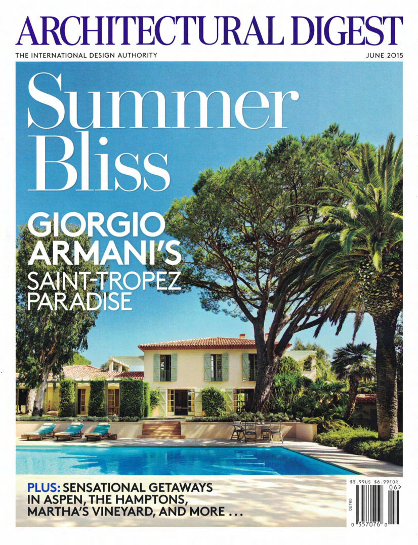 Architectural Digest (June 2015)